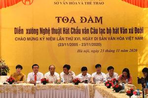 Trao truyền, giữ gìn và phát huy giá trị di sản văn hoá phi vật thể hát Chầu Văn