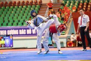 Hà Nội đứng thứ ba tại giải vô địch Taekwondo quốc gia năm 2020