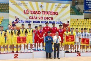 Hà Nội xếp nhất toàn đoàn giải vô địch Cầu mây toàn quốc năm 2020