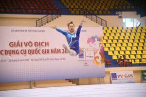 Hà Nội đăng cai giải Thể dục dụng cụ VĐQG 2020