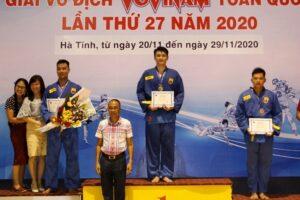 Hà Nội giành 4 HCV tại giải vô địch Vovinam toàn quốc 2020