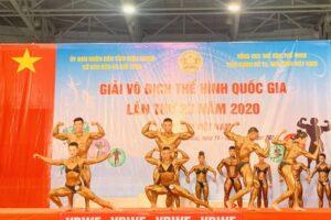 Giải Vô địch Thể hình quốc gia 2020: Hà Nội đoạt giải ba đồng đội nam