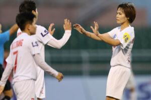 Lượt về giải Bóng đá nữ VĐQG 2020: Hà Nội I Watabe lên đầu bảng