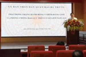 Quận Hai Bà Trưng, Hà Nội phát động Tháng hành động vì bình đẳng giới năm 2020