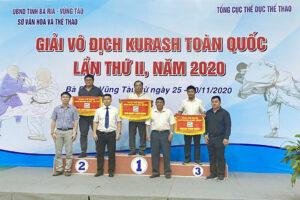Hà Nội giành 2 HCV tại giải Vô địch Kurash toàn quốc 2020