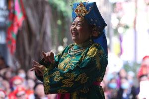 Liên hoan Nghệ thuật văn hóa Tín ngưỡng thờ Mẫu lần thứ I trên địa bàn quận Nam Từ Liêm