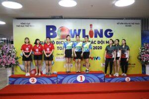 Đội Hà Nội giành chức vô địch toàn đoàn giải Bowling các đội mạnh toàn quốc 2020