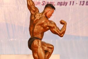 Lực sĩ Hà Nội Tạ Đình Thái giành HCV 85 kg ở giải Vô địch thể hình Quốc gia 2020