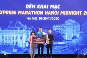 Khai mạc giải chạy đêm Hà Nội 2020