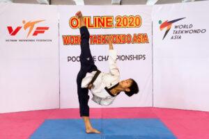 Võ sĩ Hà Nội Phạm Quốc Việt giành HCĐ quyền Taekwondo châu Á 2020
