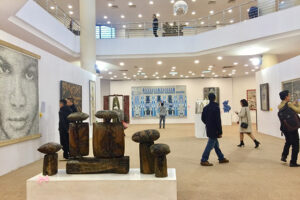 Trưng bày gần 500 tác phẩm phản ánh toàn diện thành tựu của mỹ thuật Việt Nam 5 năm qua