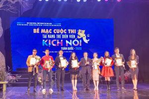 Hai nghệ sĩ Nhà hát Kịch Hà Nội giành HCV tài năng trẻ diễn viên sân khấu kịch nói toàn quốc 2020
