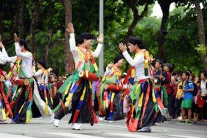 Cuối tuần này sẽ diễn ra Lễ hội Văn hóa dân gian trong đời sống đương đại tại phố đi bộ hồ Gươm