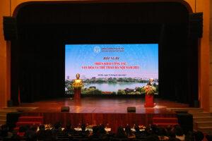 Quyết tâm đưa sự nghiệp VHTT Thủ đô trở thành nguồn lực thúc đẩy phát triển kinh tế – xã hội