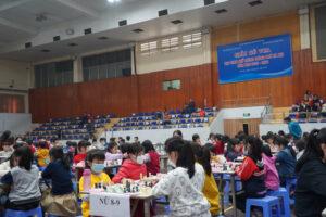 Sôi nổi giải Cờ vua học sinh TP Hà Nội năm học 2020-2021