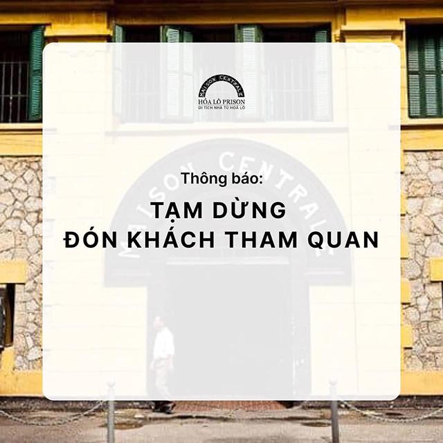 Hà Nội: Các di tích tạm dừng đón khách tham quan