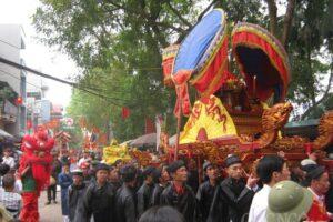 Tháng Ba nhớ về Lễ hội Chùa Láng