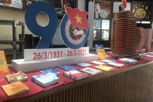 """Trưng bày """"Tự hào Đoàn Thanh niên cộng sản Hồ Chí Minh"""" với hơn 300 tư liệu sách, báo"""