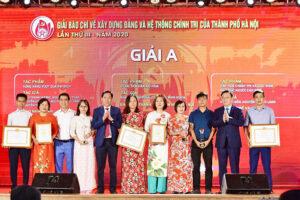 Hà Nội triển khai một số nhiệm vụ tổ chức hai Giải báo chí lớn của Thành phố lần thứ IV – 2021