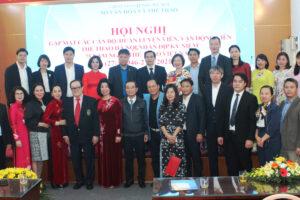 Gặp mặt cán bộ, HLV, VĐV tiêu biểu nhân dịp Kỷ niệm 75 năm Ngày Thể thao Việt Nam