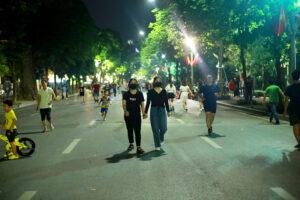 Tạm dừng các hoạt động tại phố đi bộ trên địa bàn quận Hoàn Kiếm từ ngày 30/4/2021