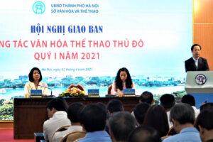 Đưa ngành Văn hóa – Thể thao ngày càng phát triển trong sự phát triển chung của Thủ đô Hà Nội