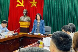 Sở VHTT Hà Nội thực hiện nghiêm túc việc đánh giá xếp loại cán bộ, công chức, viên chức và người lao động hàng tháng theo quy định của Thành ủy