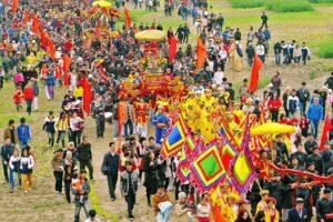 Độc đáo lễ hội Tản Viên Sơn Thánh