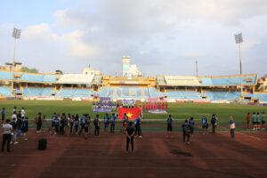 Hà Nội yêu cầu dừng tổ chức trận đấu giữa CLB Viettel – Hồng Lĩnh Hà Tĩnh trên SVĐ Hàng Đẫy vì dịch Covid-19