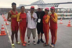 VĐV đua thuyền Hà Nội Đinh Thị Hảo cùng đồng đội giành vé Olympic thứ 7 cho Thể thao Việt Nam