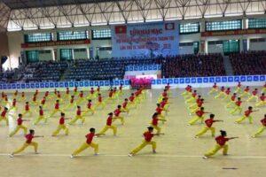 45% người dân Thanh Trì tham gia luyện tập thể thao thường xuyên