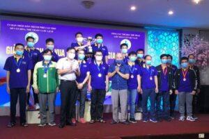 Kết thúc giải cờ vua đồng đội toàn quốc tranh Cúp TPBank 2021: Hà Nội bảo vệ thành công ngôi đầu