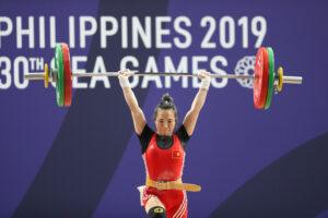 VĐV cử tạ Hà Nội Vương Thị Huyền nhận vé chính thức dự Olympic