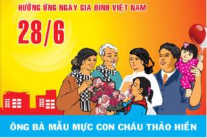 Hà Nội đẩy mạnh tuyên truyền cổ động trực quan kỷ niệm 20 năm Ngày Gia đình Việt Nam