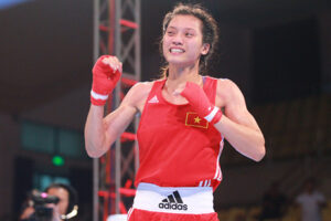 Võ sĩ Hà Nội Nguyễn Thị Tâm chắc suất dự Olympic Tokyo
