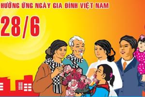 """""""Ngày hội gia đình"""" được tổ chức nhân kỷ niệm 20 năm Ngày Gia đình Việt Nam"""
