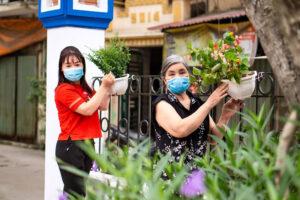 Phụ nữ huyện Thanh Trì chung tay xây dựng, giữ gìn môi trường sáng, xanh, sạch, đẹp