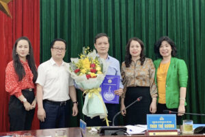 Kiện toàn chức danh Phó Bí thư Đảng uỷ Sở VHTT Hà Nội nhiệm kỳ 2020-2025