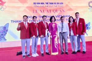 Lễ xuất quân đoàn Thể thao Việt Nam tham dự Olympic Tokyo 2020