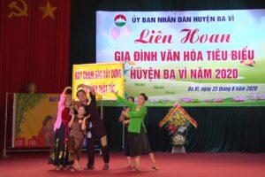 Huyện Ba Vì xây dựng Gia đình văn hóa