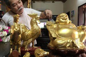 Nghề dát  vàng, bạc quỳ Kiêu Kỵ – Di sản văn hóa phi vật thể quốc gia