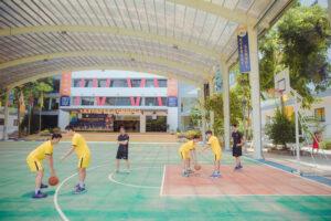 Trường phổ thông đầu tiên đào tạo bóng rổ chuyên sâu tại Hà Nội