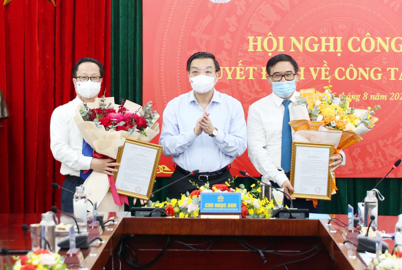 Công bố quyết định về việc tiếp nhận, bổ nhiệm Giám đốc Sở Văn hoá và Thể thao Hà Nội