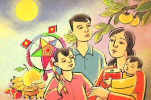 """Trải nghiệm mùa """"Trung thu sum vầy"""" trực tuyến tại Hoàng thành Thăng Long"""