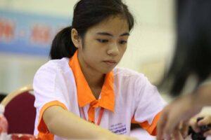 Kỳ thủ Hà Nội Nguyễn Hồng Nhung giành HCV giải Cờ nhanh trẻ thế giới