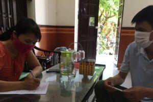 """Huyện Ứng Hòa: Hơn 50.000 hộ dân ký cam kết thực hiện """"Gia đình an toàn COVID-19"""""""