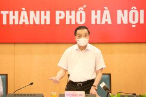 Chủ tịch UBND TP Hà Nội ban hành Công điện số 20 về việc tăng tốc kiểm soát tình hình dịch bệnh để thúc đẩy phát triển kinh tế – xã hội
