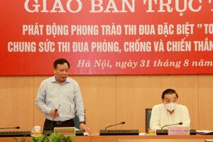 Thành lập Tiểu ban Truyền thông – Ban Chỉ đạo công tác phòng, chống dịch Covid-19 Thành phố Hà Nội