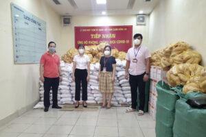 Huyện Sóc Sơn: Lan tỏa yêu thương, sẻ chia trong đại dịch COVID-19