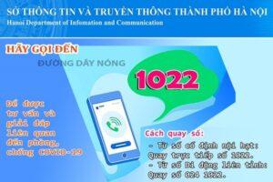 Hà Nội mở thêm kênh hỗ trợ người dân bị ảnh hưởng bởi đại dịch Covid-19 tại Tổng đài 1022
